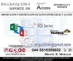 Programacion y soporte Microsoft Access