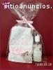 Promocionales toalla bordada y gel antib