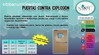 PUERTAS CONTRA EXPLOSION