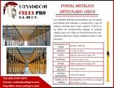 PUNTAL METÁLICO ARTICULADO CHICO