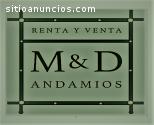 RENTA DE ANDAMIOS