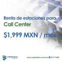 Renta de Estaciones para Call Center