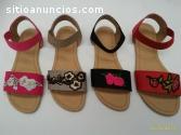 sandalias de moda dama