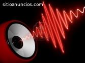 Servicio profesional a equipo de audio