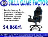 SILLA GAME FACTOR