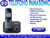 TELEFONO ALAMBRICO PANASONIC CON ALTAVOZ