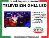 """TELEVISION GHIA LED DE 32"""""""