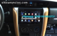 Toyota Fortuner Android Radio Coche DVD