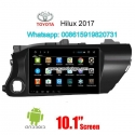 Toyota Hilux 2017 radio Car android GPS