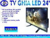 """TV GHIA LED DE 24"""""""