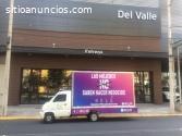 Vallas Móviles en Nogales, Sonora