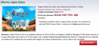 Viajes China en Julio 12 Dias