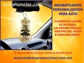AMBIENTADORES PERSONALIZADOS PARA AUTO