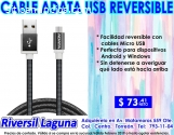 CABLE USB REVERSIBLE ADATA