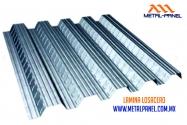 Lamina steel deck Entrepiso Metalico