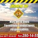 NO ESPERES MAS APRENDE A CONDUCIR !!
