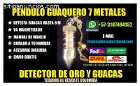 PENDULO GUAQUERO 7 METALES