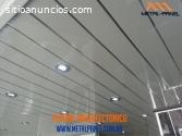 Plafón arquitectónico - venta, suministr