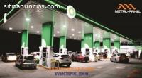 Plafon Gasolinero KR12 Lamina.- Venta