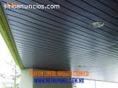 Plafon Lineal Arquitectonico – venta