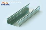 Poste y canal para tablaroca metalico