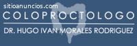 Proctólogo Tlaxcala. Dr. Hugo Iván Moral