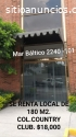 Renta de local ubicado Zona Financiera