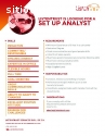 Set Up Analyst