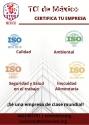 TCI, Servicios de certificación ISO.