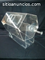 Tómbolas en acrílico cristal