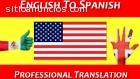 TRADUCCIONES INGLÉS-ESPAÑOL Y ESPAÑOL-IN