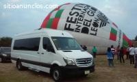 Transporte turistico en Leon, silao, gto