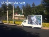 Vallas Móviles en San Pablo del Monte