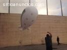 zepelin inflable publicitario
