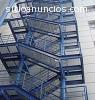 fabricacion de escaleras metalicas