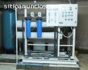 fabricacion plantas de osmosis inversa