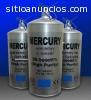 mercurios líquidos en todos los colores