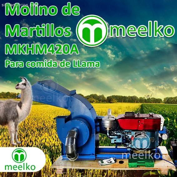 Molino Meelko para comida de llama