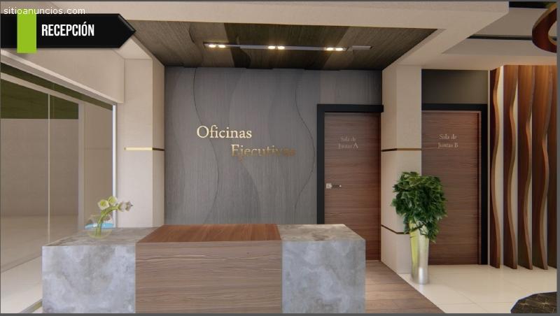Oficinas Ejecutivas en Renta en Edificio