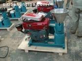 Peletizadora Meelko  150mm 8 hp Diesel