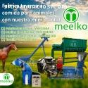 Pellets alimentación de Caballos Meelko