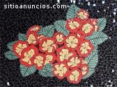 Se hacen mosaicos por encargo