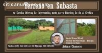 Terreno en Subasta