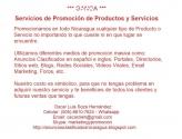 Servicios de Promoción de Productos