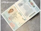 Comprar pasaportes,tarjetas de identific