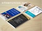 Diseño de tarjetas de presentación perso