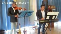 Música instrumental con violín para even
