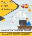TRADUCTOR PUBLICO AUTORIZADO / 62564988