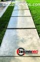 piso de concreto estapados decorativos