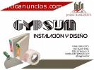 REFORMAS INTERIOR INSTALACION DE GYPSUM